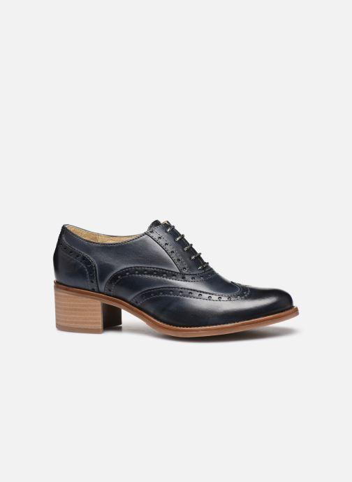 Zapatos con cordones Georgia Rose Noubois Azul vistra trasera