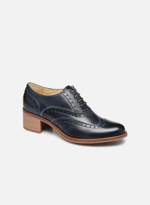 Chaussures à lacets Georgia Rose Noubois Bleu vue détail/paire