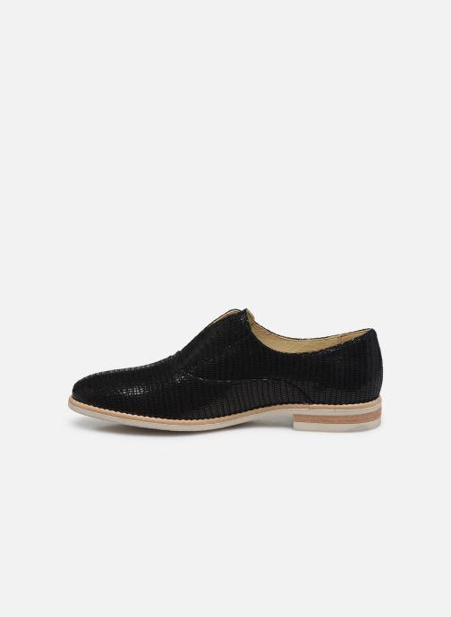 Zapatos con cordones Georgia Rose Nibant Negro vista de frente