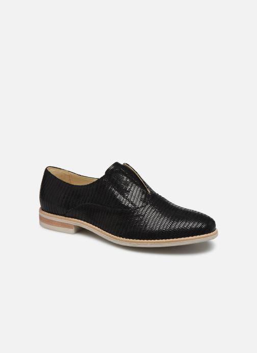 Zapatos con cordones Georgia Rose Nibant Negro vista de detalle / par