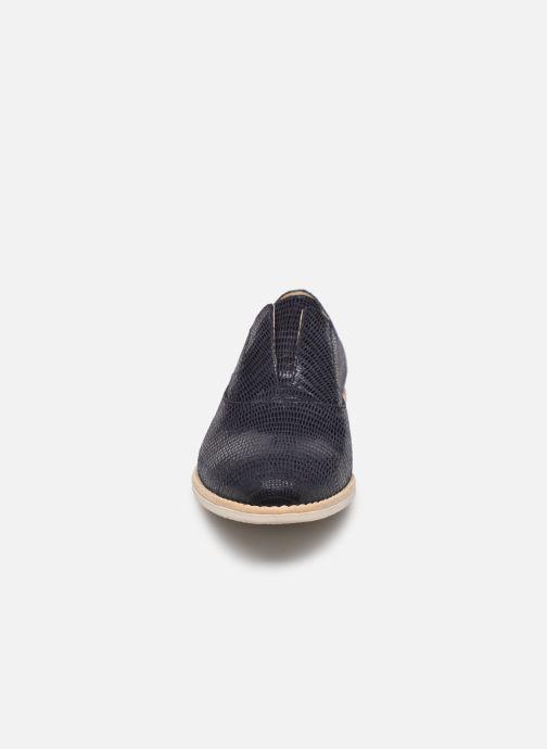 Chaussures à lacets Georgia Rose Nibant Bleu vue portées chaussures