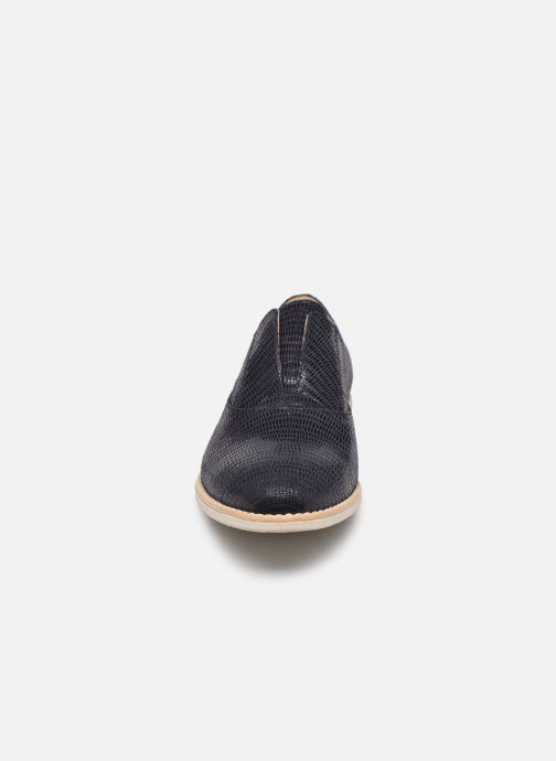 Zapatos con cordones Georgia Rose Nibant Azul vista del modelo