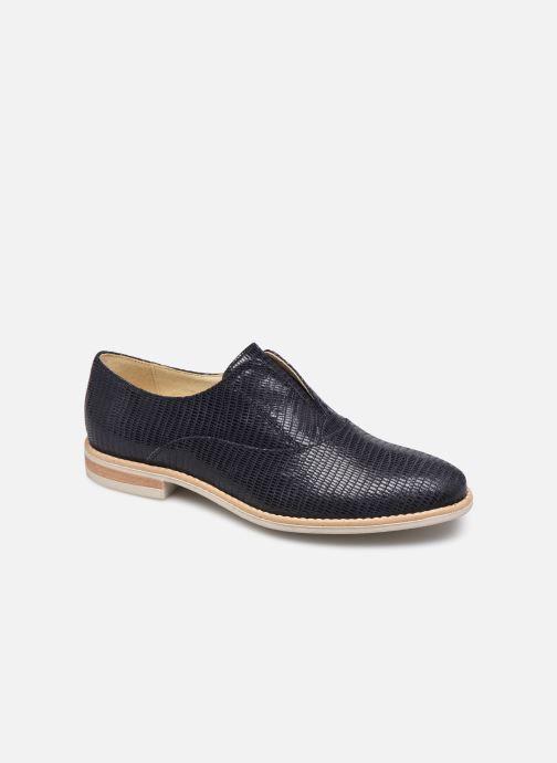 Chaussures à lacets Georgia Rose Nibant Bleu vue détail/paire