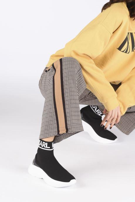 Baskets Karl Lagerfeld Skyline Knit Ankle Pull On Noir vue bas / vue portée sac