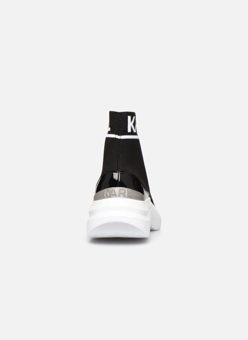 Baskets Karl Lagerfeld Skyline Knit Ankle Pull On Noir vue droite