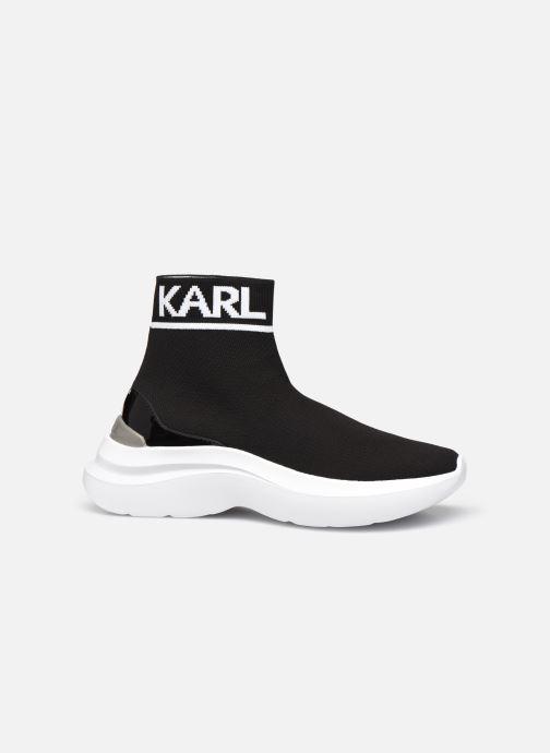 Baskets Karl Lagerfeld Skyline Knit Ankle Pull On Noir vue derrière