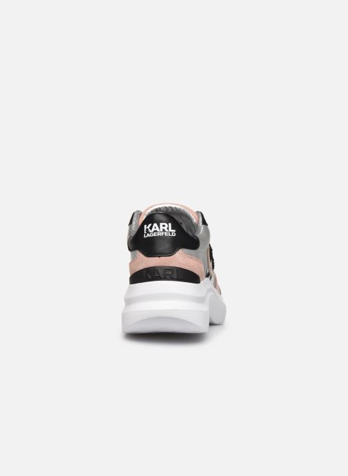 Baskets Karl Lagerfeld Skyline Lux Ikonic Lace Leather Multicolore vue droite