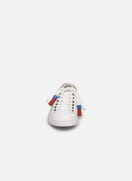Baskets Karl Lagerfeld Kupsole II Pixel Pair Lace Blanc vue portées chaussures