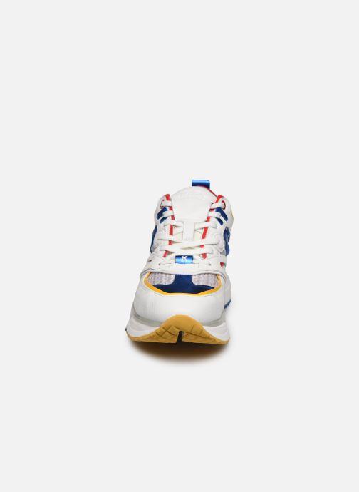 Baskets Karl Lagerfeld Aventur Delta Lo Mix Multicolore vue portées chaussures