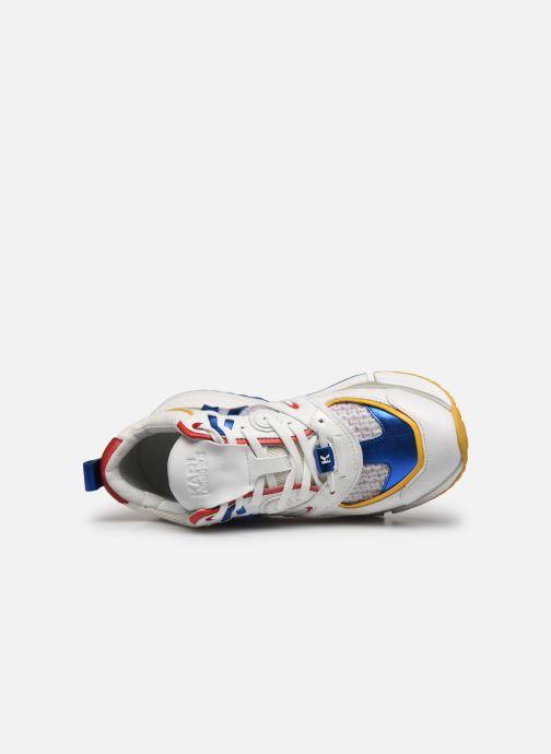 Baskets Karl Lagerfeld Aventur Delta Lo Mix Multicolore vue gauche