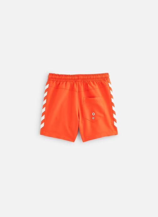 Vêtements Hummel Maillot Delta Board Shorts Orange vue bas / vue portée sac