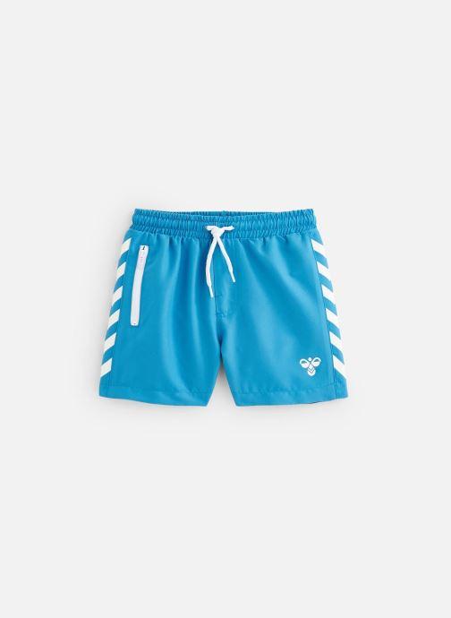 Vêtements Hummel Maillot Delta Board Shorts Bleu vue détail/paire