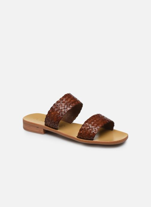 Zuecos Mujer Piers Woven Flats