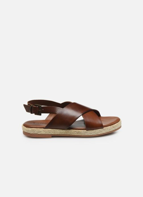 Sandali e scarpe aperte ST.AGNI Basque espadrille Marrone immagine posteriore