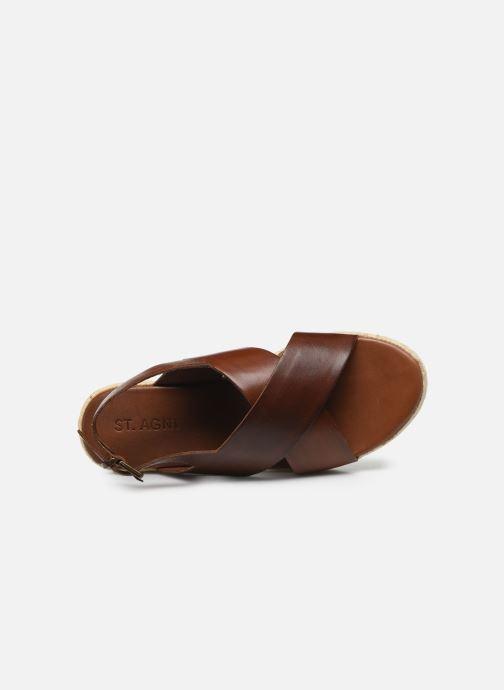 ST.AGNI Basque espadrille (Marron) - Sandales et nu-pieds chez Sarenza (420158)