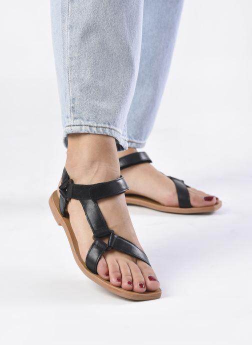 Sandali e scarpe aperte ST.AGNI Sportsu Sandals Nero immagine dal basso
