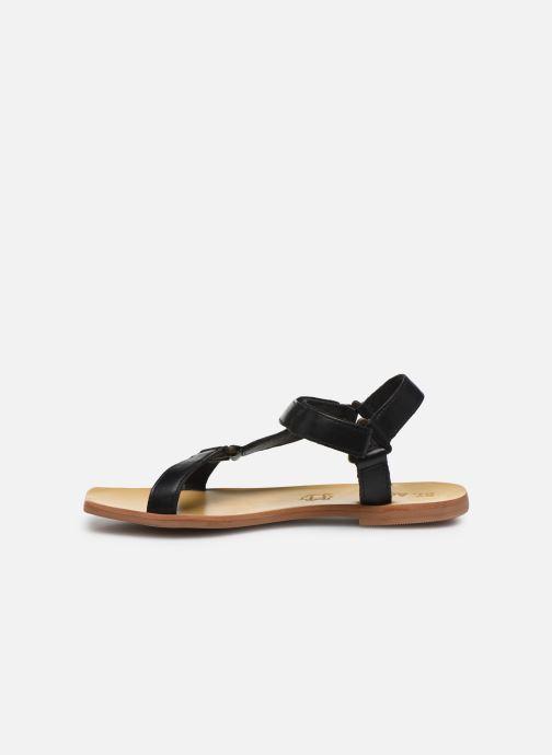 Sandalias ST.AGNI Sportsu Sandals Negro vista de frente