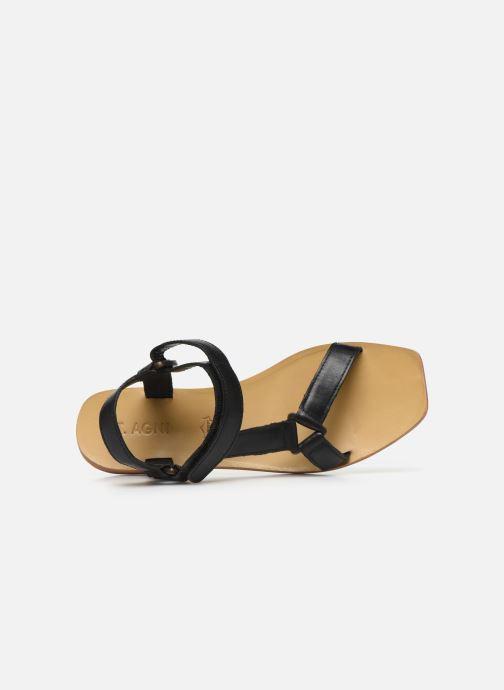 Sandali e scarpe aperte ST.AGNI Sportsu Sandals Nero immagine sinistra
