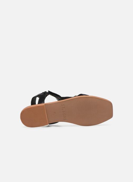 Sandali e scarpe aperte ST.AGNI Sportsu Sandals Nero immagine dall'alto