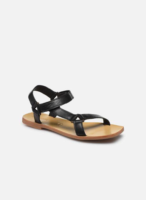 Sandalen ST.AGNI Sportsu Sandals Zwart detail