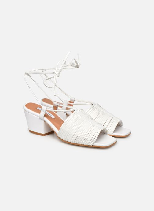Sandales et nu-pieds About Arianne Martin Blanc vue 3/4