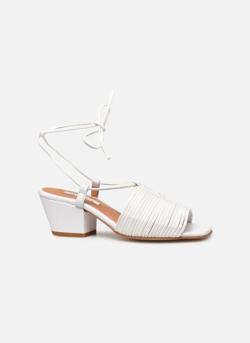 Sandales et nu-pieds About Arianne Martin Blanc vue derrière