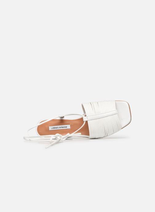 Sandales et nu-pieds About Arianne Martin Blanc vue gauche