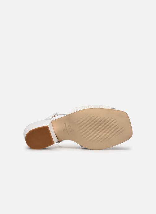 Sandales et nu-pieds About Arianne Martin Blanc vue haut