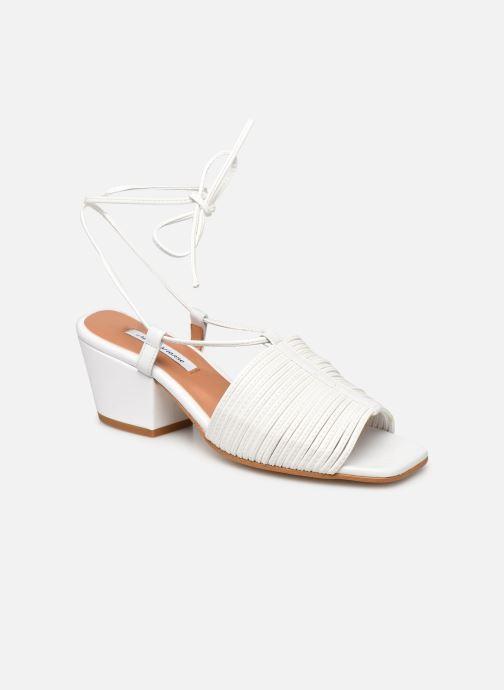 Sandales et nu-pieds About Arianne Martin Blanc vue détail/paire