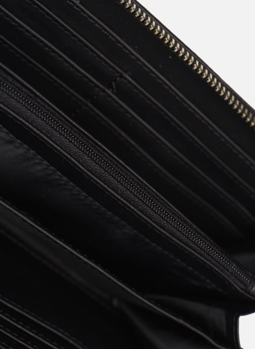 Petite Maroquinerie Guess ANNARITA SLG LARGE ZIP AROUND Noir vue bas / vue portée sac