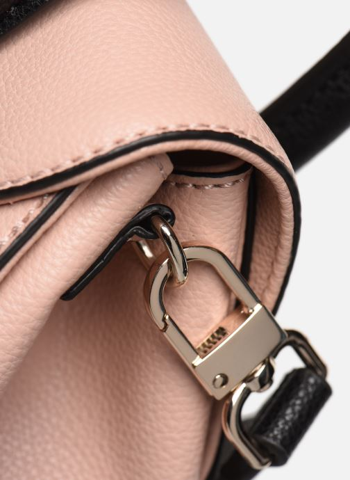 Sacs à main Guess ASHER FLAP SATCHEL Rose vue gauche