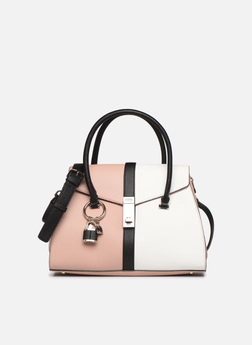 Sacs à main Guess ASHER FLAP SATCHEL Rose vue détail/paire