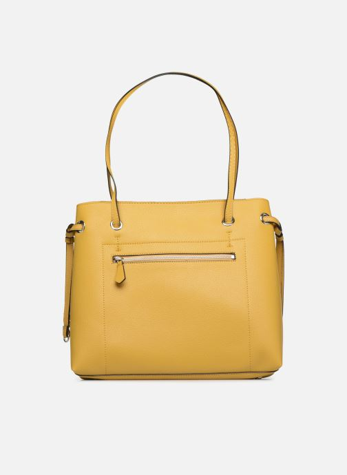 Bolsos de mano Guess DIGITAL SHOPPER Amarillo vista de frente