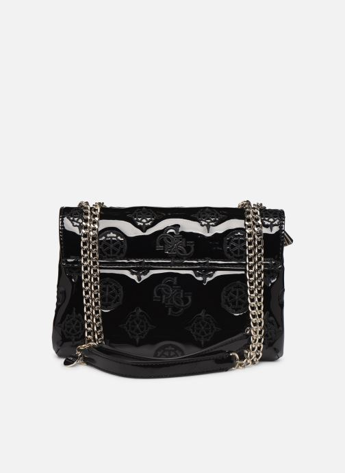 Sacs à main Guess GUESS CHIC CONVERTIBLE FLAP Noir vue face
