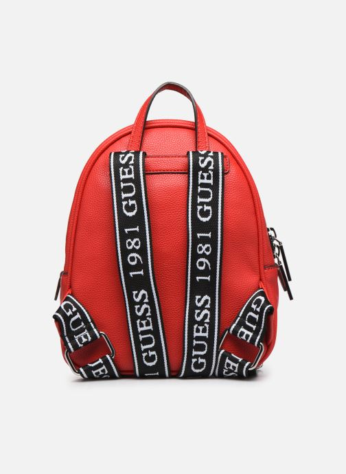 Sacs à dos Guess HAIDEE BACKPACK Rouge vue face