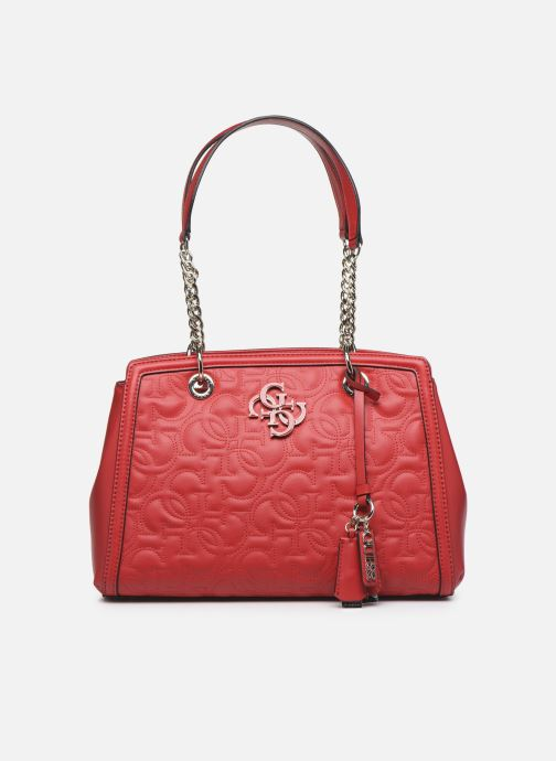 Sacs à main Guess NEW WAVE LUXURY SATCHEL Rouge vue détail/paire