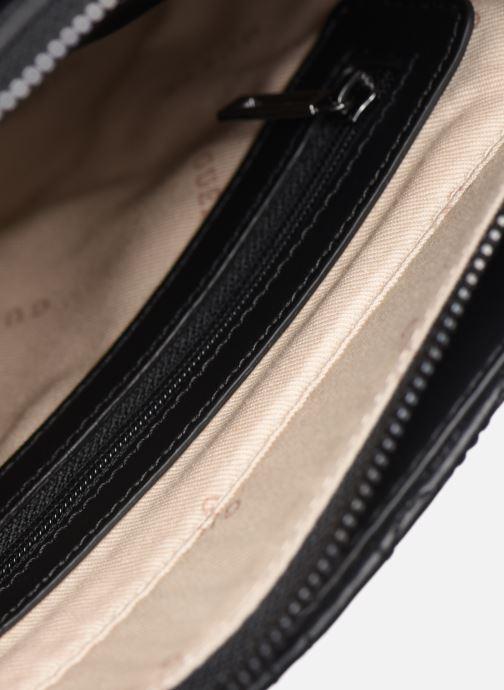 Handtassen Guess NEW WAVE SMALL HOBO Zwart achterkant