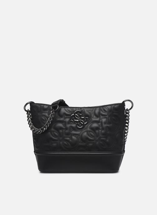 Bolsos de mano Guess NEW WAVE SMALL HOBO Negro vista de detalle / par