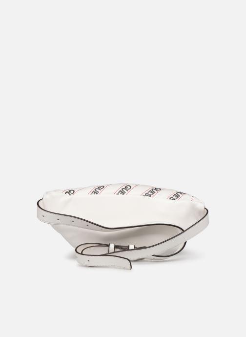 Petite Maroquinerie Guess RONNIE MINI BELT BAG Blanc vue face