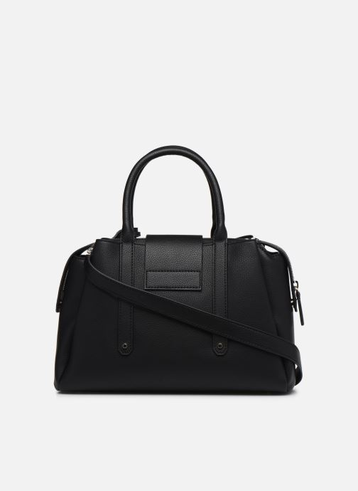 Sacs à main Guess JAYDEE LARGE SATCHEL Noir vue face
