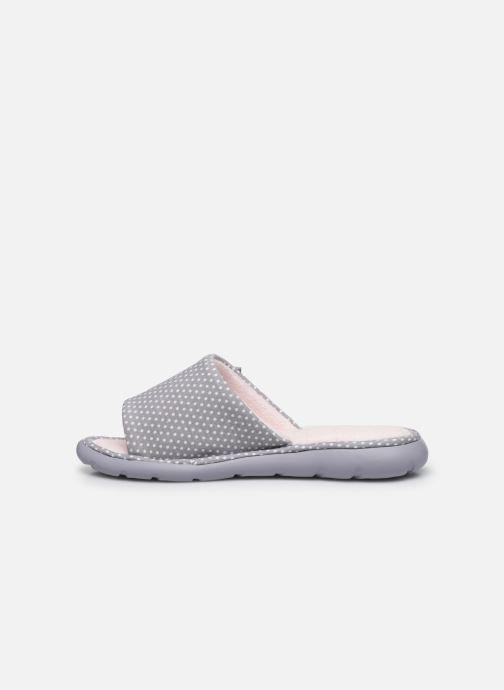 Chaussons Isotoner Sandale ergonomique Everywear Gris vue face