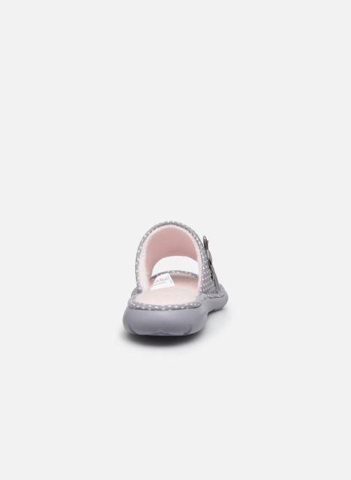 Chaussons Isotoner Sandale ergonomique Everywear Gris vue droite