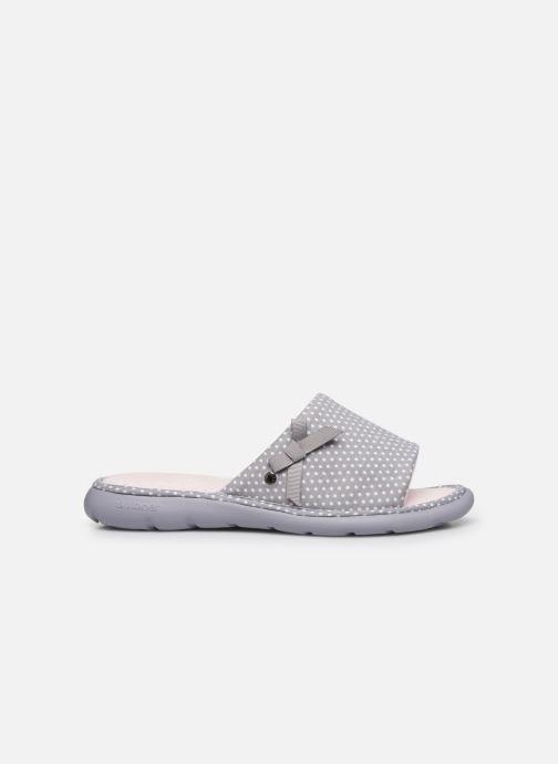 Pantuflas Isotoner Sandale ergonomique Everywear Gris vistra trasera