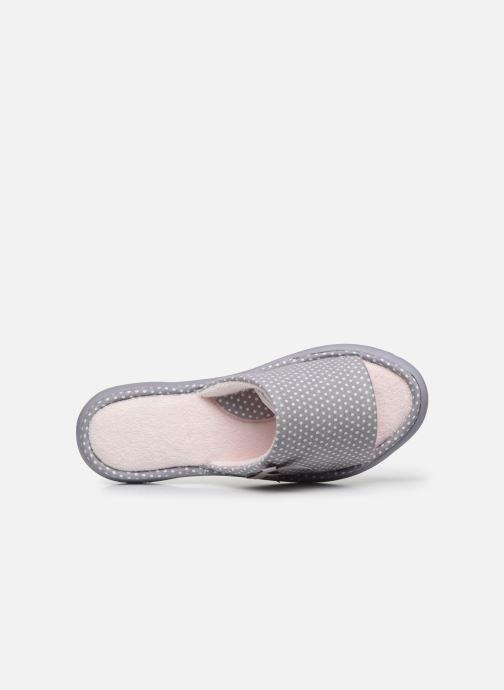 Chaussons Isotoner Sandale ergonomique Everywear Gris vue gauche