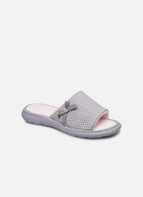 Pantuflas Isotoner Sandale ergonomique Everywear Gris vista de detalle / par
