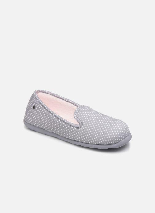 Hjemmesko Isotoner Slipper ergonomique Everywear Grå detaljeret billede af skoene