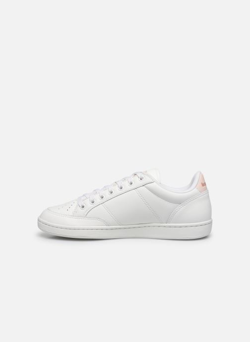 Trainers Le Coq Sportif Court Clay White front view