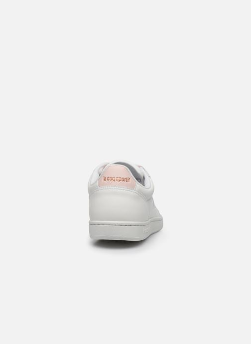 Trainers Le Coq Sportif Court Clay White view from the right