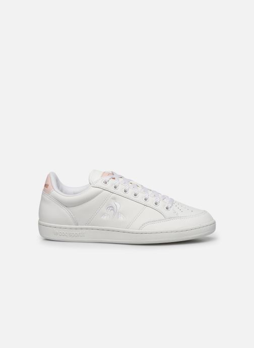 Trainers Le Coq Sportif Court Clay White back view