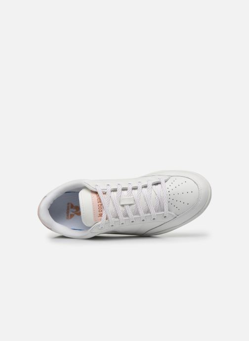 Trainers Le Coq Sportif Court Clay White view from the left